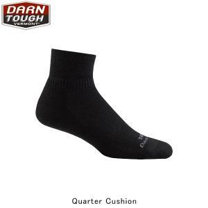 ダーンタフバーモント メンズ メリノウール ソックス 靴下 タクティカル 1/4ソッククッション 抗菌 消臭 DAR19444088 国内正規品|geak