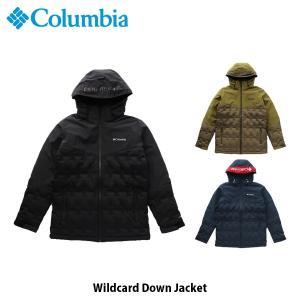 コロンビア Columbia メンズ ダウンジャケット ワイルドカードダウンジャケット Wildcard Down Jacket 保温 防水透湿 防寒着 アウター 上着 EE0901 国内正規品 geak