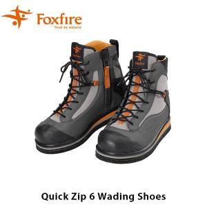 フォックスファイヤー Foxfire メンズ クイックジップ6WDシューズ Quick Zip 6 Wading Shoes 5023853 FOX5023853|geak