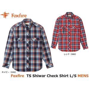 フォックスファイヤー Foxfire メンズ シャツ TSシワーチェックシャツL/S TS Shiwar Check Shirt L/S 5112734 FOX5112734|geak