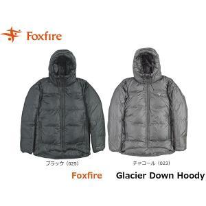 フォックスファイヤー Foxfire メンズ グレーシャーダウンフーディ ダウンジャケット ダウン 羽毛 防寒 アウトドアウェア 登山 冬物 FOX5113876 国内正規品|geak