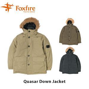 フォックスファイヤー Foxfire メンズ Quasar Down Jacket クエーサーダウンジャケット アウター ジャケット 撥水 軽量 登山 FOX5113903|geak