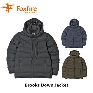 フォックスファイヤー Foxfire メンズ ブルックスダウンジャケット アウター ダウンジャケット 透湿防水 ハイキング 登山 アウトドア FOX5113914|geak