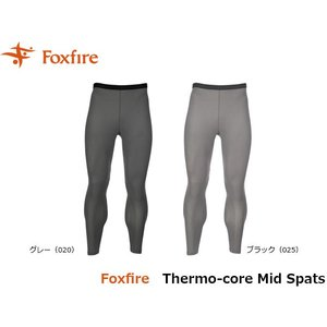 フォックスファイヤー Foxfire メンズ サーモコアミッドスパッツ タイツ レギンス ハイキング インナー 登山 保温 防寒 Thermo-core Mid Spats FOX5114738|geak