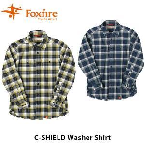 フォックスファイヤー Foxfire メンズ Cシールドワッシャーシャツ C-SHIELD Washer Shirt 5212840 FOX5212840|geak