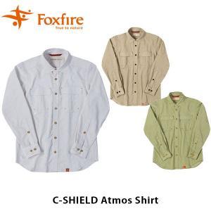 フォックスファイヤー Foxfire メンズ Cシールドアトモスシャツ C-SHIELD Atmos Shirt 5212842 FOX5212842|geak