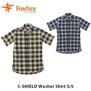 フォックスファイヤー Foxfire メンズ CシールドワッシャーシャツS/S C-SHIELD Washer Shirt S/S 5212843 FOX5212843|geak