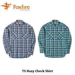 フォックスファイヤー Foxfire メンズ TSヘイジーチェックシャツ シャツ 長袖 ハイキング 登山 ファッション アウトドア キャンプ FOX5212962 国内正規品|geak