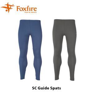フォックスファイヤー Foxfire メンズ SCガイドスパッツ スパッツ ハイキング 登山 ファッション アウトドア スコーロン 防虫 虫除け FOX5214622 国内正規品|geak