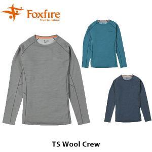 フォックスファイヤー Foxfire メンズ TSウールクルー TS Wool Crew 5215834 FOX5215834|geak