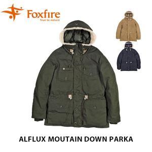 フォックスファイヤー Foxfire メンズ ダウンジャケット アウター アルフラックスマウンテンダウンパーカー 羽毛 アウトドア キャンプ FOX6113806|geak