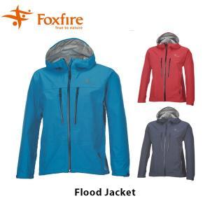フォックスファイヤー Foxfire メンズ フラッドジャケット アウター GORE-TEX ゴアテックス 防水 釣り フィッシング ウェア 男性用 Flood Jacket FOX7411644 geak