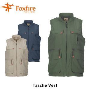 Foxfire フォックスファイヤー ベスト レディース Tasche Vest W・タッシュベスト 8010549 FOX8010549|geak