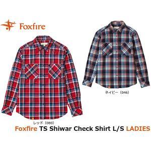 フォックスファイヤー Foxfire レディース シャツ TSシワーチェックシャツL/S TS Shiwar Check Shirt L/S 8112709 FOX8112709|geak