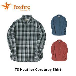 フォックスファイヤー Foxfire レディース TSヘザーコーデュロイシャツ 長袖 シャツ コーデュロイ ハイキング 登山 アウトドア FOX8112934|geak