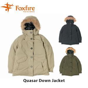 フォックスファイヤー Foxfire レディース クエーサーダウンジャケット アウター ジャケット 撥水 ハイキング 登山 アウトドア FOX8113916|geak