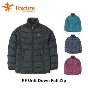 フォックスファイヤー Foxfire レディース PFユニットダウンフルジップ アウター ダウンジャケット 軽量 ハイキング アウトドア FOX8113921|geak