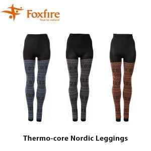 フォックスファイヤー Foxfire レディース サーモコアノルディックレギンス スパッツ タイツ ハイキング 登山 Thermo-core Nordic Leggings FOX8115742|geak