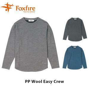 フォックスファイヤー Foxfire レディース PPウールイージークルー 長袖 Tシャツ ハイキング 登山 アウトドア FOX8115943|geak