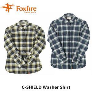 フォックスファイヤー Foxfire レディース Cシールドワッシャーシャツ C-SHIELD Washer Shirt 8212811 FOX8212811|geak
