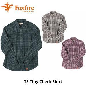 フォックスファイヤー Foxfire TSタイニーチェックシャツ TS Tiny CheCk Shirt 8212816 FOX8212816|geak