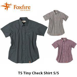 フォックスファイヤー Foxfire レディース TSタイニーチェックシャツS/S TS Tiny CheCk Shirt S/S 8212818 FOX8212818|geak