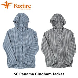 フォックスファイヤー Foxfire レディース SCパナマギンガムジャケット SC Panama Gingham Jacket 8213889 FOX8213889|geak
