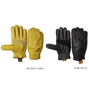 グリップスワニー グローブ G-4 パンチングメッシュモデル ワークグローブ 本革 レザー 手袋 レディース メンズ イエロー ブラック 黒 G-4B GRIP SWANY G4|geak