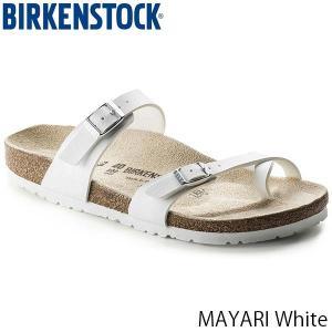ビルケンシュトック サンダル レディース メンズ マヤリ MAYARI フラット ストラップ カジュアル おしゃれ 幅広 ホワイト BIRKENSTOCK GC071051 国内正規品|geak