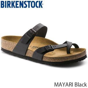 ビルケンシュトック サンダル レディース メンズ マヤリ MAYARI フラット ストラップ カジュアル おしゃれ 幅広 ブラック BIRKENSTOCK GC071791 国内正規品|geak