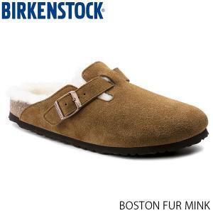ビルケンシュトック メンズ レディース サンダル ボストン BOSTON MINK スエード 幅狭 BIRKENSTOCK GC1001141 国内正規品|geak