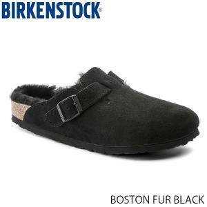 ビルケンシュトック メンズ レディース サンダル ボストン BOSTON BLACK スエード 幅広 BIRKENSTOCK GC259881 国内正規品|geak