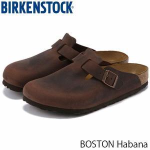 ビルケンシュトック サンダル メンズ ボストン BOSTON 革 旅行 オイルドレザー 幅広 おしゃれ ハバナ 男性用 BIRKENSTOCK GC860131 国内正規品|geak