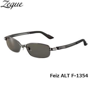 ジールオプティクス ZEAL OPTICS 偏光サングラス Feiz ALT フェイズオルタ F-1354 ガンメタル トゥルービューフォーカス グレンフィールド GLE4580274163572 geak