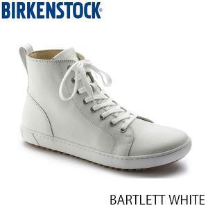 ビルケンシュトック レディース シューズ バートレット BARTLETT WHITE ナチュラルレザー 幅狭 BIRKENSTOCK GS1004562 国内正規品|geak