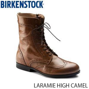 ビルケンシュトック レディース シューズ ララミー LARAMIE HIGH CAMEL ナチュラルレザー 幅狭 BIRKENSTOCK GS1006902 国内正規品|geak