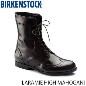 ビルケンシュトック レディース シューズ ララミー LARAMIE HIGH MAHOGANI ナチュラルレザー 幅狭 BIRKENSTOCK GS1006904 国内正規品|geak