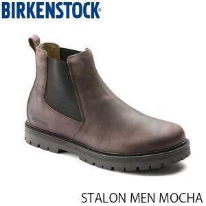 ビルケンシュトック メンズ シューズ スタロン STALON MEN MOCHA ナチュラルレザー 幅広 BIRKENSTOCK GS1010651 国内正規品|geak