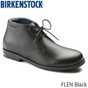 ビルケンシュトック メンズ ビジネスシューズ フレン FLEN コンフォート カジュアル 革靴 レザーシューズ 幅広 ブラック 黒 BIRKENSTOCK GS1011630 国内正規品|geak