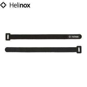 ヘリノックス ベロクロタイ 4本セット Lサイズ ブラック 19759013001007 Helinox HEL19759013001007 geak