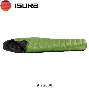 ブランド:ISUKA/イスカ  モデル:イスカ エア 280X  カラー:グリ−ン  最低使用温度:...