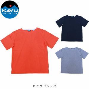 カブー KAVU メンズ ロック Tシャツ 半袖 19820618 KAV19820618 国内正規品|geak