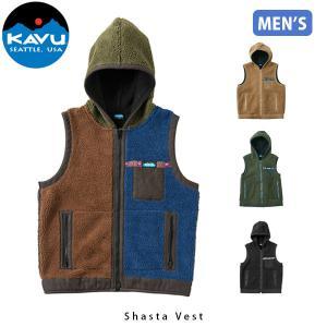 カブー KAVU メンズ フリース シャスタベスト ジャケット キャンプ アウトドアウェア アウター KAV19820708 19820708 国内正規品|geak
