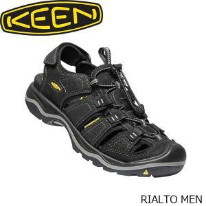 Keen Rialto II Sandals Men Bison/Black 2019 Sandalen braun Outdoor-Bekleidung Camping & Outdoor