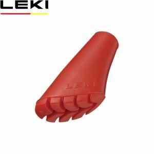 レキ アクセサリー LEKI NWインドアラバーチップ(1個) レッド 1300113 LEK1300113 国内正規品|geak