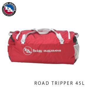 ビッグアグネス ロードトリッパー 45L ダッフルバッグ スポーツバッグ 試合 合宿 修学旅行 キャンプ レッド 大容量 LRTRIP45L18|geak