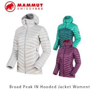 マムート レディース ダウンジャケット Broad Peak IN Hooded Jacket Women マウンテニアリング トレッキング ハイキング 登山 1013-00350 MAMMUT MAM101300350|geak