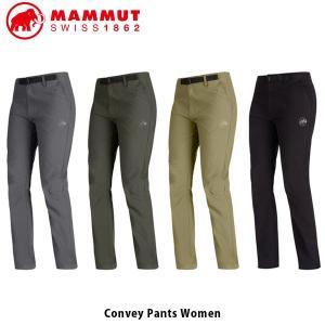 マムート MAMMUT レディース ロングパンツ Convey Pants Women ハイキング ...