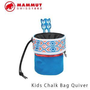 マムート キッズ チョークバッグ KIDS CHALK BAG QUIVER クライミング ボルダリング ネイティブアメリカン MAMMUT 2050-00020 MAM205000020|geak