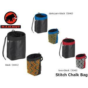 マムート ステッチチョークバッグ Stitch Chalk Bag 2290-00900 MAMMUT MAM229000900|geak